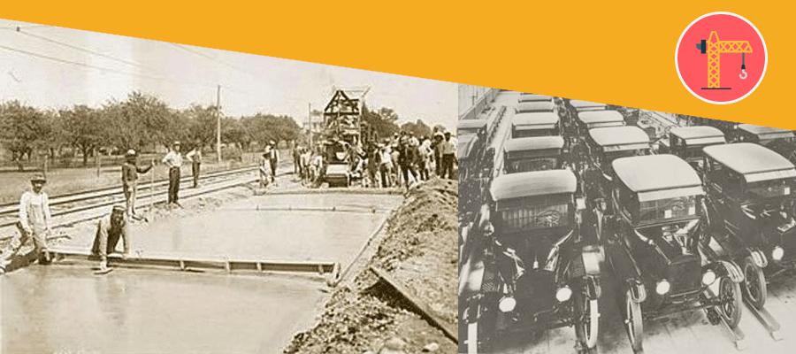 El primer carrer asfaltat de la història