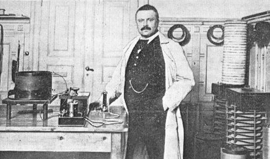 Valdemar Poulsen, inventor del pare del contestador automàtic