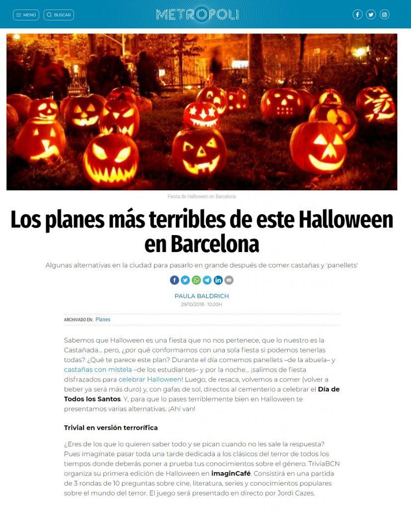Halloween - Metropoli