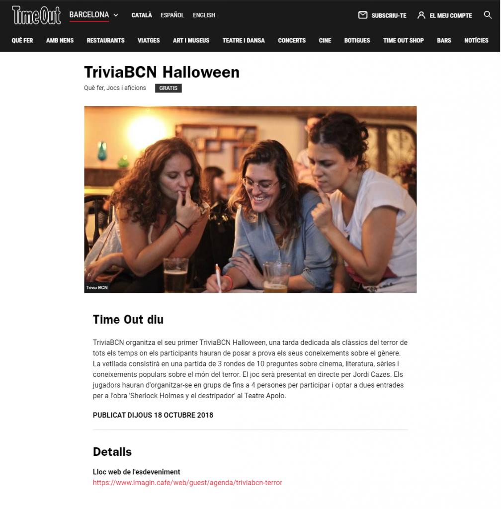 Halloween - TimeOut