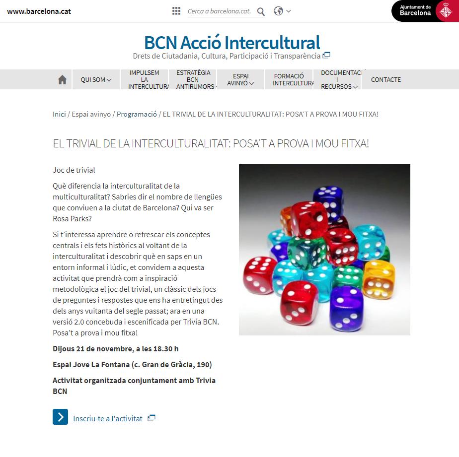 Intercultural - Ajuntament Barcelona